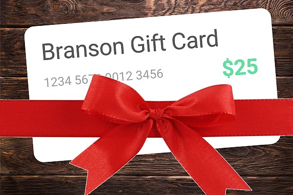 A Branson Travel Office gift certificate makes the perfect gift for any occasion and can be used toward hundreds of things to do, places to stay, and shows to see in Branson, MO!