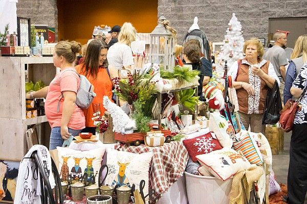 More than 150+ vendors will be displaying their arts, crafts, and products for sale in more than 200+ booths at the show