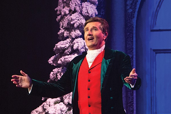 "Irish singing sensation Daniel O' Donnell presents his ""Christmas With Daniel"" show in Branson this year!"