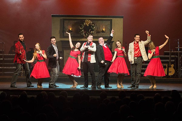 The Hughes Brothers' Christmas show delivers a high-energy production of unmatched talent!