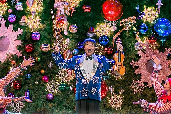 Famous Japanese fiddler Shoji Tabuchi will present his world-renown Christmas show in Branson this year!