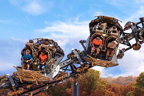 Branson's most popular attraction is the famous Silver Dollar City theme and amusement park!