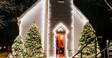Free Branson Christmas Light Display