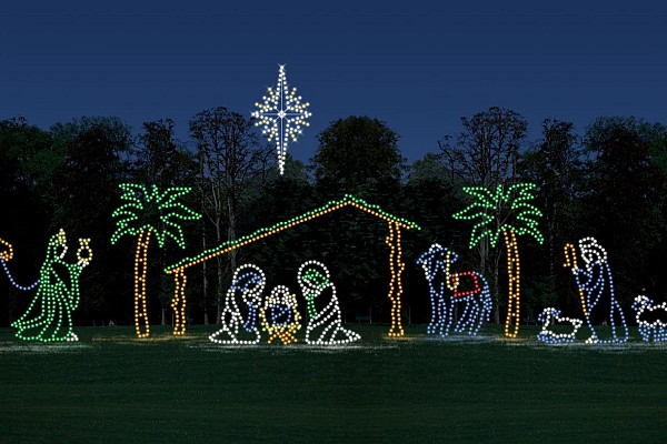 Branson's Gift of Lights is a drive-through Christmas light display located off Shepherd of the Hills Expressway.