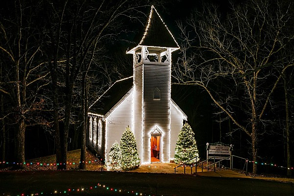The North Pole Adventure is an all-new walking Christmas light tour at Shepherd of the Hills