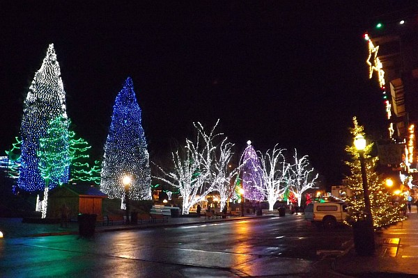 Leavenworth, Washington's Annual Christmas Lighting Festival.