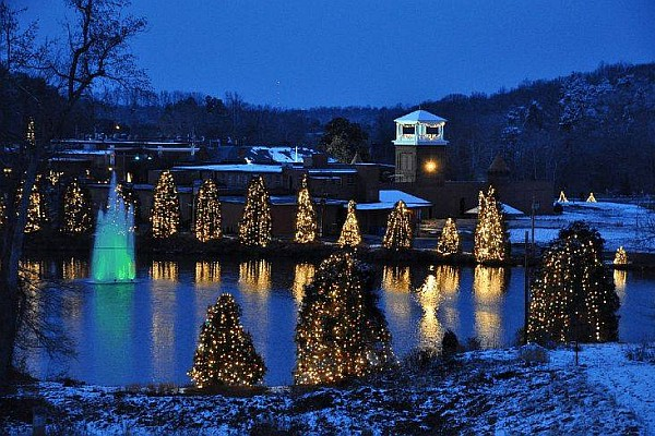McAdenville, North Carolina is home to some of the country's most beautiful Christmas lights!