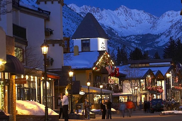 Vail, Colorado transforms into a winter wonderland every year.