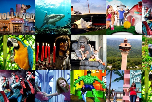 The Branson Attraction Pass saves you up to 36%+ off some of the area's most popular attractions!