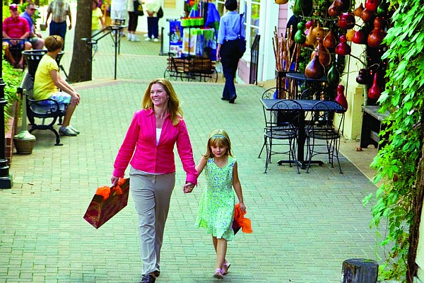The shopping possibilities and options in the area are second-to-none!