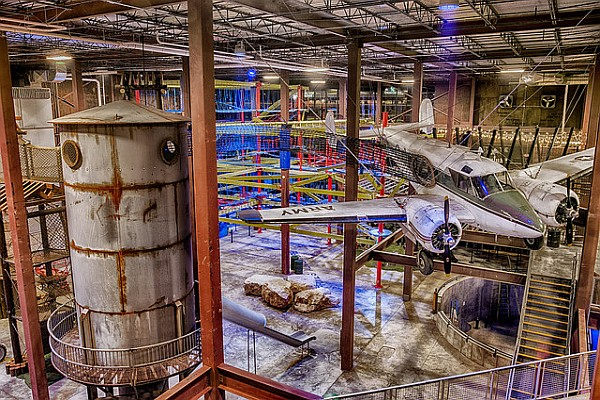 Experience 80,000 square feet of indoor adventure, fun, and activities at Fritz's Adventure!