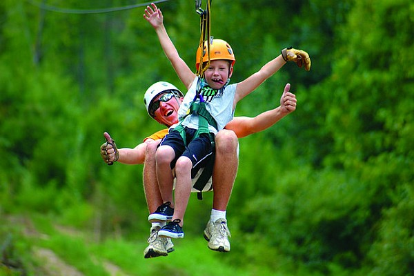 There are more than a half-dozen different zipline and zipline-style rides and attractions in Branson to choose from!