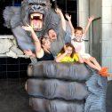King Kong at Hollywood Wax Museum!
